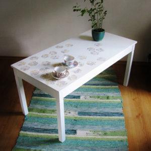 valge diivanilaud - Atmosfäär renoveeritud mööbel