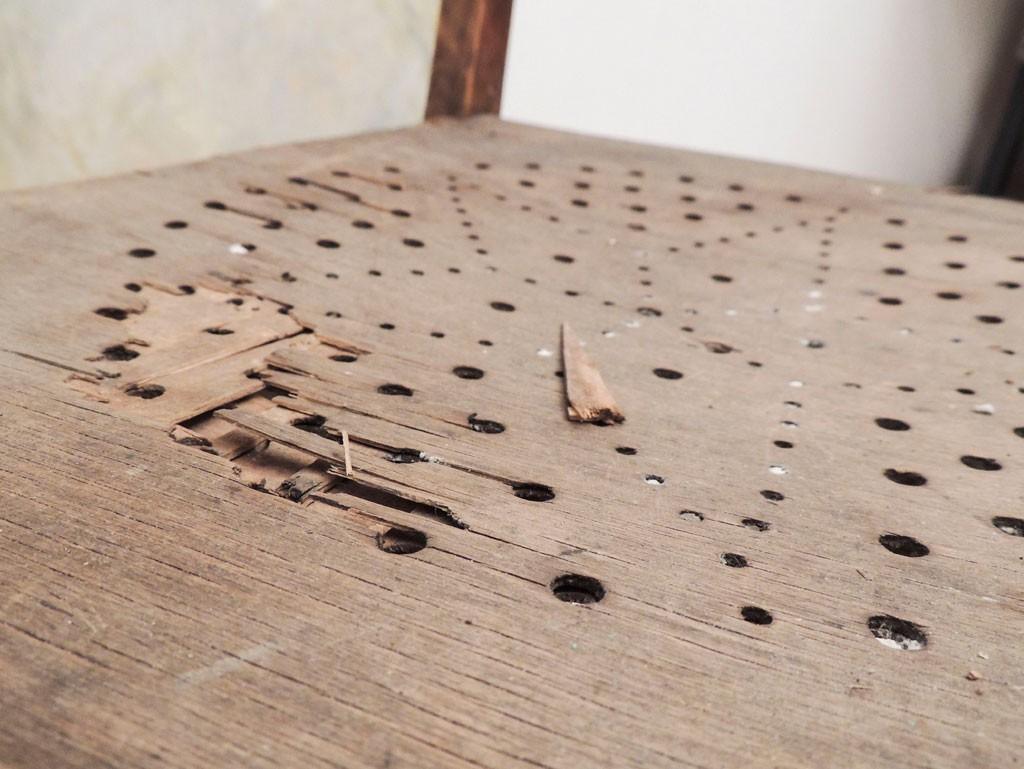 Vana tooli põhi