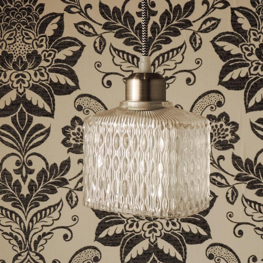 Klaasist laelamp 'Ruubik' - Atmosfäär mööbel