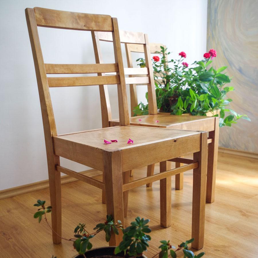 Puidust toolid - Atmosfäär mööbel