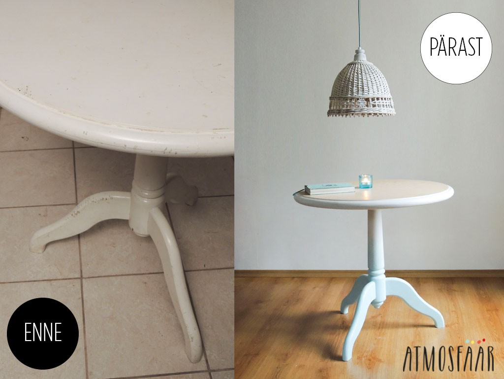 Laud enne ja pärast - Atmosfäär mööbel