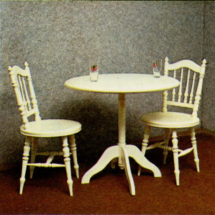 Valge laud ETKVL TK Kooperatiiv - Atmosfäär mööbel