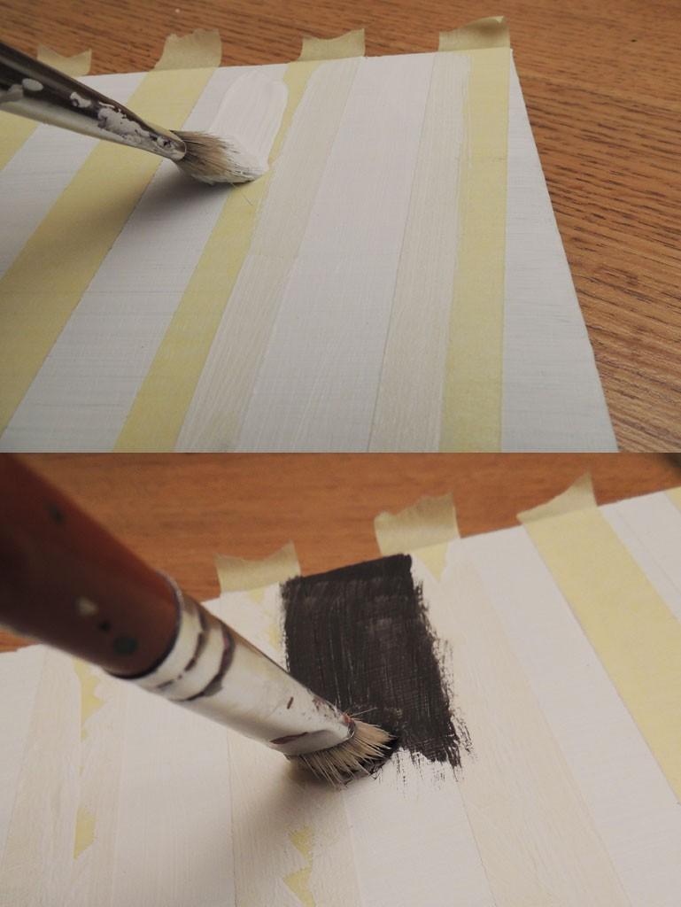Kuidas värvida sirgeid triipe - Atmosfäär mööbel