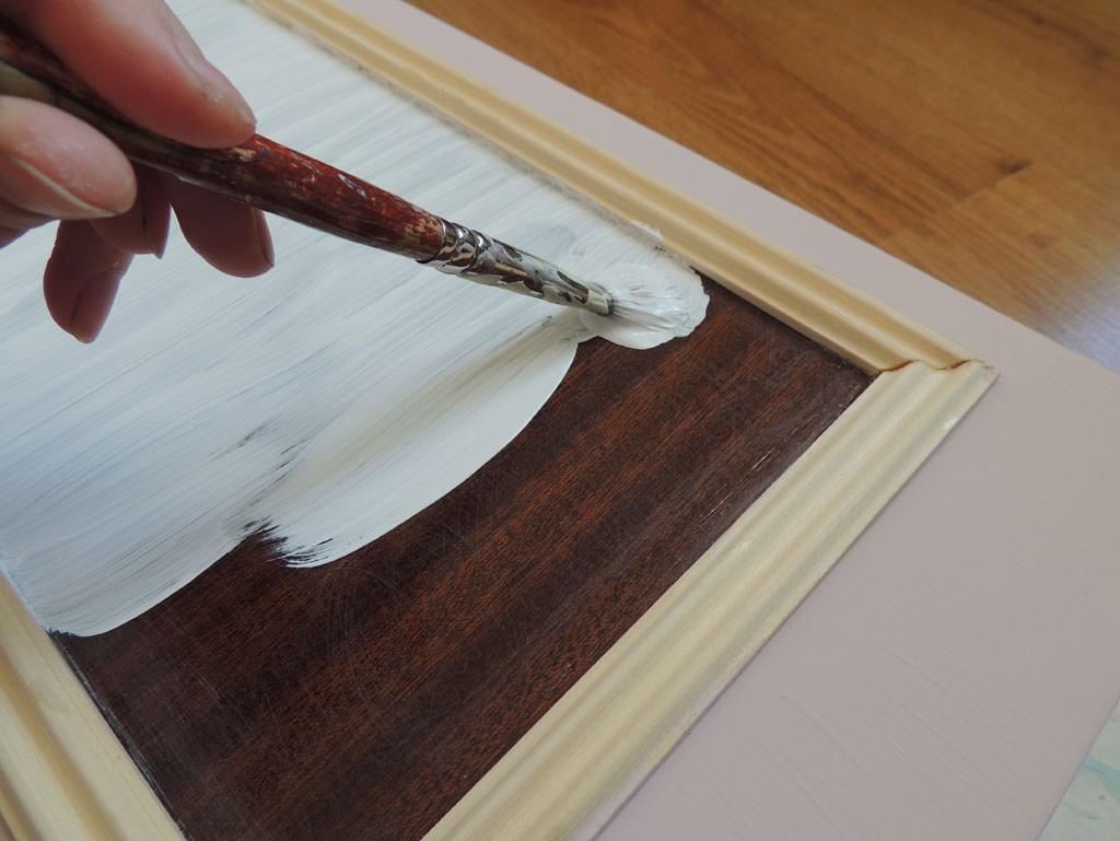 Mööbli värvimine kriidivärviga - Atmosfäär mööbel