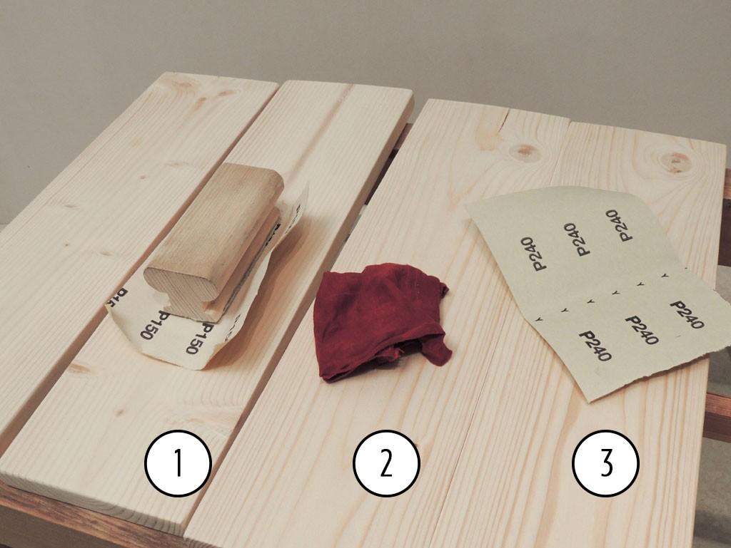 Hööveldatud laudade töötlemine - Atmosfäär mööbel