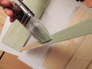 Värvimine liimvärviga - Atmosfäär mööbel