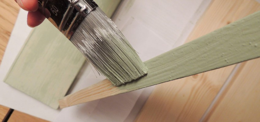 Värvimine liimvärviga – Atmosfäär mööbel